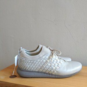 NEW Cole Haan Studiogrand Weave Trainers Gray 7